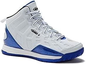 AND1 Kids Show Out Basketball Shoe, 7 M US Big Kid White/Royal