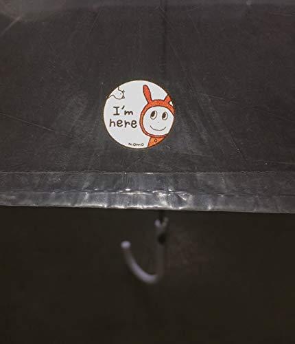 反射シールmomoデザインピカライト反射ステッカー交通安全
