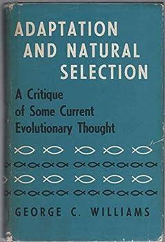 Hardcover Adaptation and Natural Selection Book