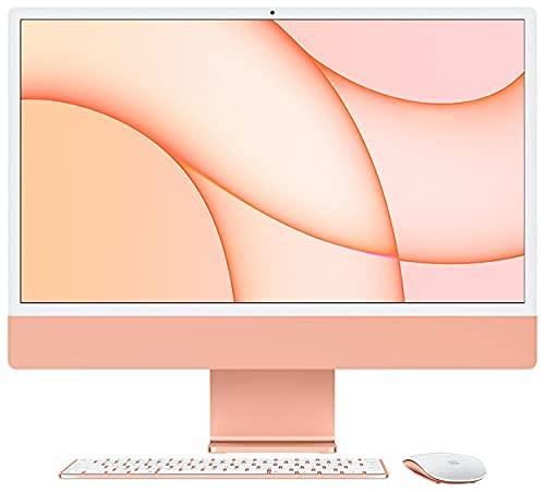 Mac Desktop 24'/8-Core M1 Chip/8GB RAM/8-Core GPU/1.25TB SSD Storage/Office for Mac/DVD Drive/4-port USB 3.0 hub with Ethernet