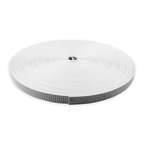 DIWARO® Rolladengurt | Gurtbreite 20 mm | mit Schonkante | 50 m Rolle | grau