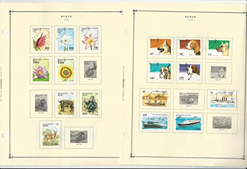 white ace stamp album - 5