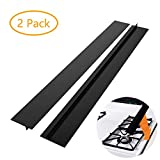 DSYJ Kitchen Silicone Stove Counter Gap Cover, Easy Clean Heat Resistant Wide & Long Gap Filler, Seals Spills...