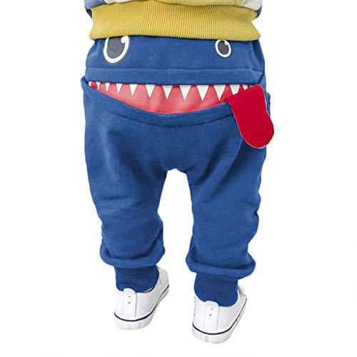 Zylione Hose Kinder Hosen Boy Pluderhosen Hosen Kindertagesgeschenk Neugeborenes Mädchen Junge Harem Hosen Cartoon Muster