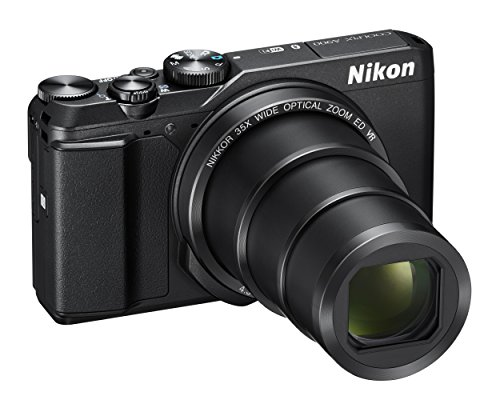 Nikon Coolpix A900Digitale Kompaktkamera, 20,3Megapixel, Zoom 35x, VR, Filme 4K UHD, Bluetooth, WLAN, schwarz