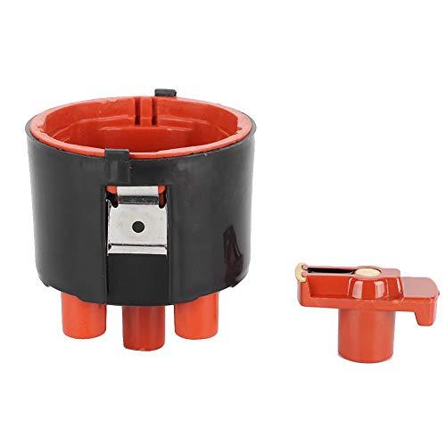 Yctze Kit rotore accensione tappo distributore Accessorio per auto adatto per GOLF III Variant 93-99 0001583931 per 1234332350 1235522380 Kit accensione accensione rotore tappo distributore distributo