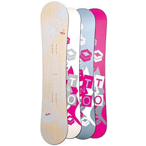Ftwo Damen Freestyle Snowboard WHITEDECK 2017~143 cm ~ Rocker