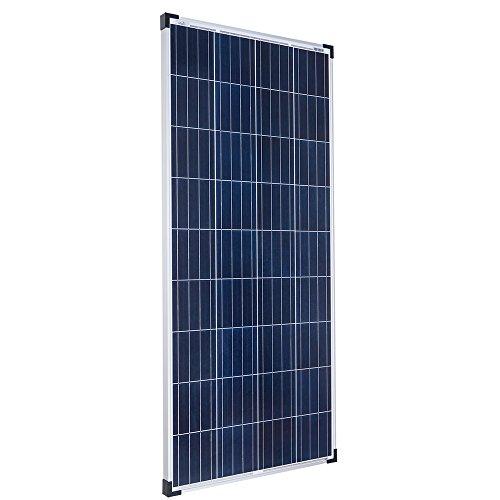 Offgridtec 160W 12V polykristalline Solarzelle Wohnwagen Garten Solarpanel