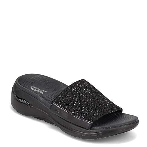 Skechers Women's, Gowalk Arch Fit - Bonita Sandal Black 8 M