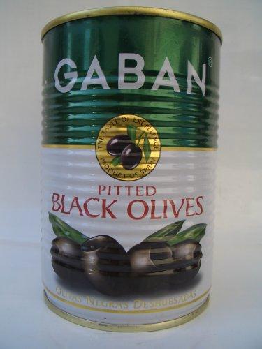 ギャバン ブラックオリーブ 種抜き 170g