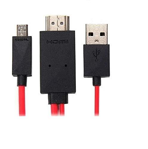 6pies/2m MHL Micro USB a HDMI HDTV Cable adaptador para Samsung Galaxy S2y nota