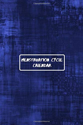 Menstruation Cycle Calendar: Monthly Menstrual Cycle Assessment Logbook Journal, Tracking Fertile Period, Diet Monitor, Food & Lifestyle Control, ... with 110 Pages. (Menstrual Tracker, Band 9)