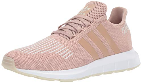 adidas Originals Women's Swift Running Shoe ,ash pearl/off white/white, 9.5 M US