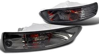 Spec-D Tuning LB-ELP03G-DP Mitsubishi Eclipse Smoke Front Bumper Signal Lights