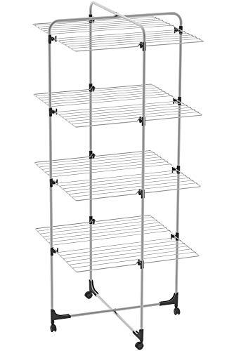 Colombo Stendibiancheria a Torre, Grigio Metallizzato, 40m