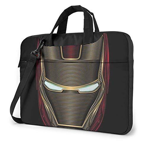 13 Inch Laptop Bag Iron Man Laptop Briefcase Shoulder Messenger Bag Case Sleeve