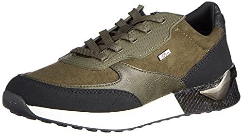 s.Oliver Damen 5-5-23606-37 Sneaker, Dark Olive, 39 EU