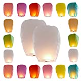 Best Sky Lanterns - Chinese Sky Lanterns 20 Pack Colors, Fyling Lanterns Review