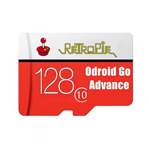 TAPDRA Estación de emulación 128G Tarjeta Micro SD Totalmente cargada para Odroid Go Advance V2.0 / RGB10 /RGB20 /RK2020 de 27.000 Juegos Plug & Play