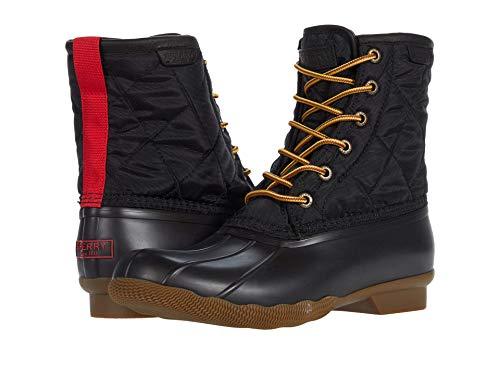 Sperry mens Men's Saltwater Duck Nylon Rain Boot, Black, 10.5 US