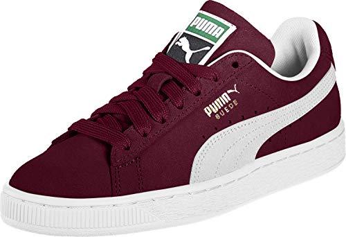 Puma Unisex Erwachsene Suede Classic+ Sneakers, Rot (cabernet white), 42 EU