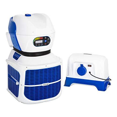 Bestway Swimfinity, Gegenstromanlage für ausdauerndes Schwimmtraining im Gartenpool, mit LED-Digitalanzeige und 8 verschiedenen Strömungsgeschwindigkeiten