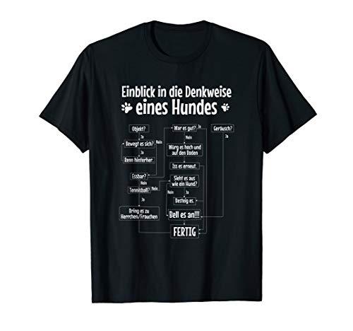 Einblicke in die Denkweise eines Hundes, vier Pfoten T-Shirt