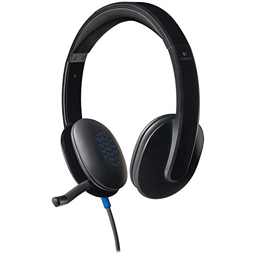 Logitech High-performance USB Headset H540 for Windows and Mac, Skype Certified