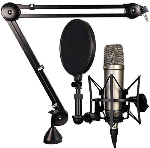 Rode NT1-A - Juego de micrófono y trípode de mesa PSA-1
