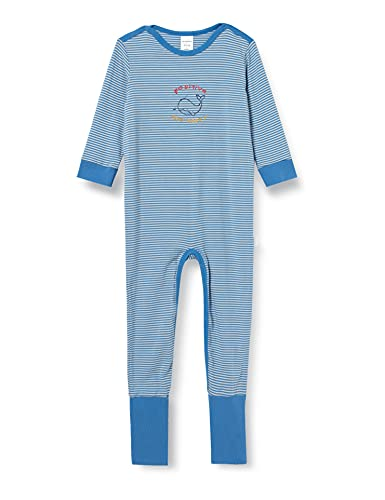 Schiesser Baby-Jungen Anzug mit Vario Kleinkind-Schlafanzüge, blau, 92