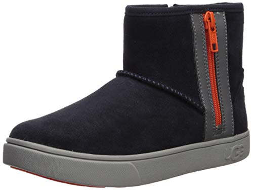 UGG Kids' Adler Sneaker Sneaker, True Navy, 5 M US Big Kid