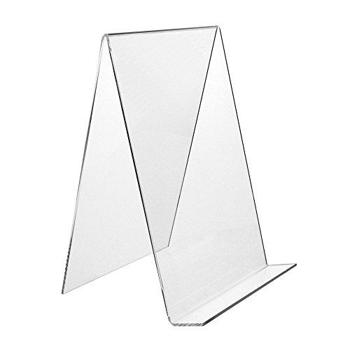 DIN A4 Buchstütze/Buchständer/Warenstütze/Warenträger aus Acryl