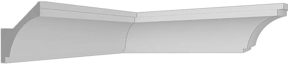 Moldura de poliestireno 20 m + 4 esquinas, 80 x 85 mm Z20