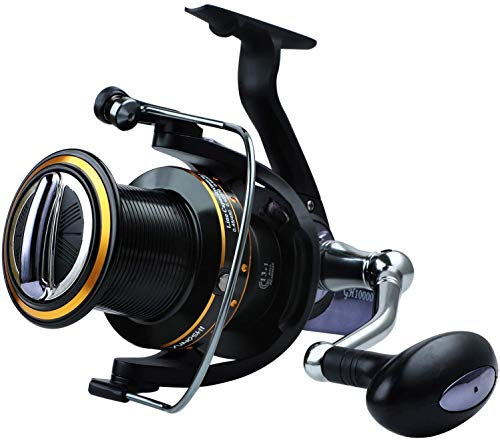 YONGZHI Fishing Reels 10000 Surf Fishing 13+1 Stainless BB Ultra Smooth Powerful Offshore Fishing Reels