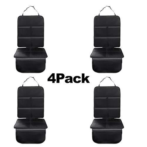 8safe Protector Universal para Asiento de Coche (Pack x 4) | Antideslizante y Resistente | ISOFIX Compatible | Material Oxford 210D | Tamaño Ideal para Turismos/SUV