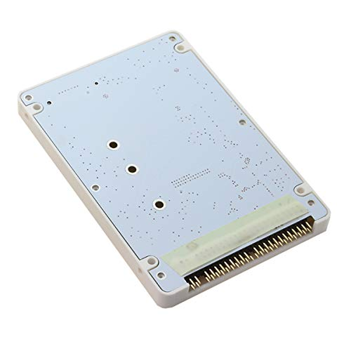 Cablecc NGFF B/M-Key SSD - 2.5インチ IDE 44ピン ハードディスクケース ノートブックパソコン用