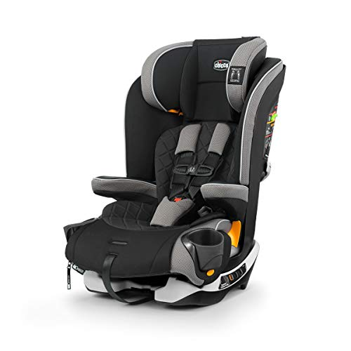 Chicco MyFit Zip Harness + Booster Car Seat - Nightfall, Black