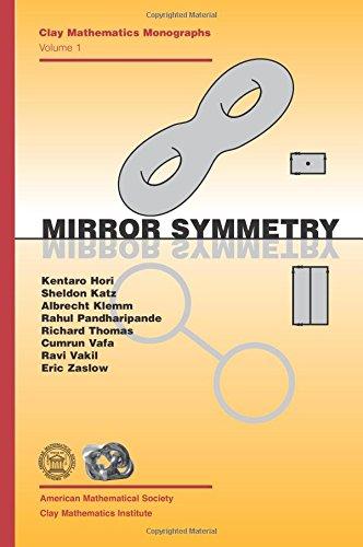 Mirror Symmetry (Clay Mathematics Monographs)