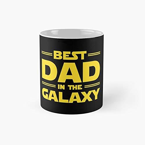 Taza clásica Best Dad in The Galaxy