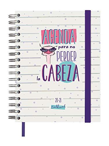 Finocam - Agenda Curso 2020-2021 Cuarto-155x217 Semana Vista Apaisada Cabeza Blanco Español