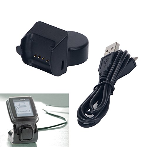 EXMART for TomTom Runner GPS Watch / TomTom Mulit-Sport Cardio Charger, USB Charging Cable for TOMTOM Runner 1 ( Not Fit for TomTom Runner 2 )