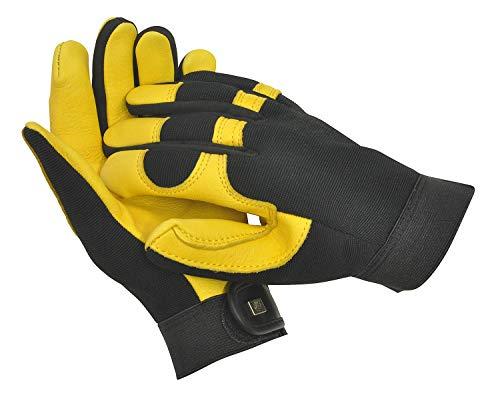 WAGNER Gold Leaf Gloves - Soft Touch - Damen - Gartenhandschuhe der Extraklasse, Hirschleder/Lycra, Nylon, Schaumstoff/RHS Auszeichnung - 25303100
