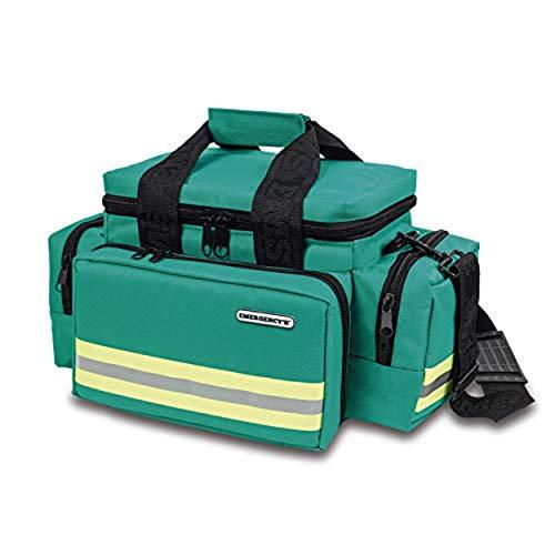 Elite Bags, EMS, Bolsa de emergencias, Amplia, Resistente, Verde
