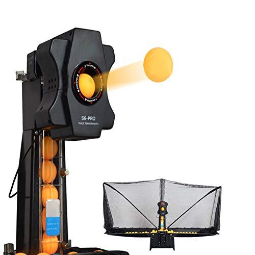 K-DD Robot de Entrenamiento de Ping-Pong automático, 100 Piezas de Pelotas de...