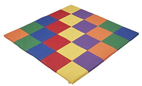 ECR4Kids Softzone Patchwork Toddler Foam Play Mat, 58