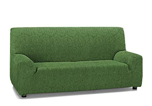 Martina Home Indiana Funda de sofá, Verde, 3 Plazas
