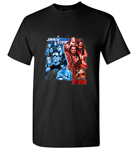 Raw Smack.Down Live Champs Graphic Men T-Shirt - T-Shirts For Men and Woman