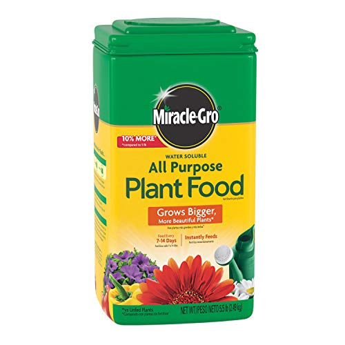 Miracle-Gro Water Soluble All Purpose Plant Food, 5.5 lb.