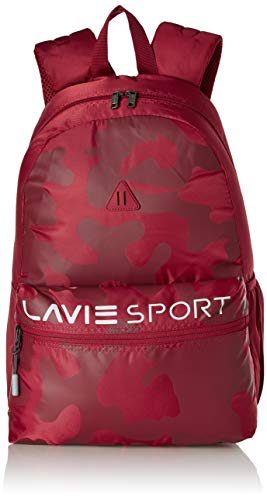 Lavie Sport 24 Litres Casual Backpack   College Bags For Girls & Boys