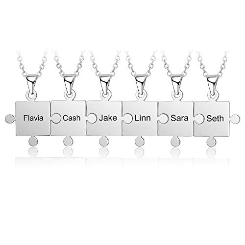 N.E.W Grand Made Personalised Puzzle Name Necklace...